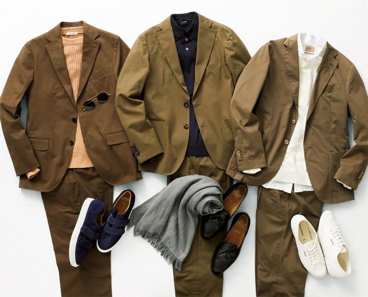 .jpg - コットン スーツ 秋冬にこそ楽しみませんか?