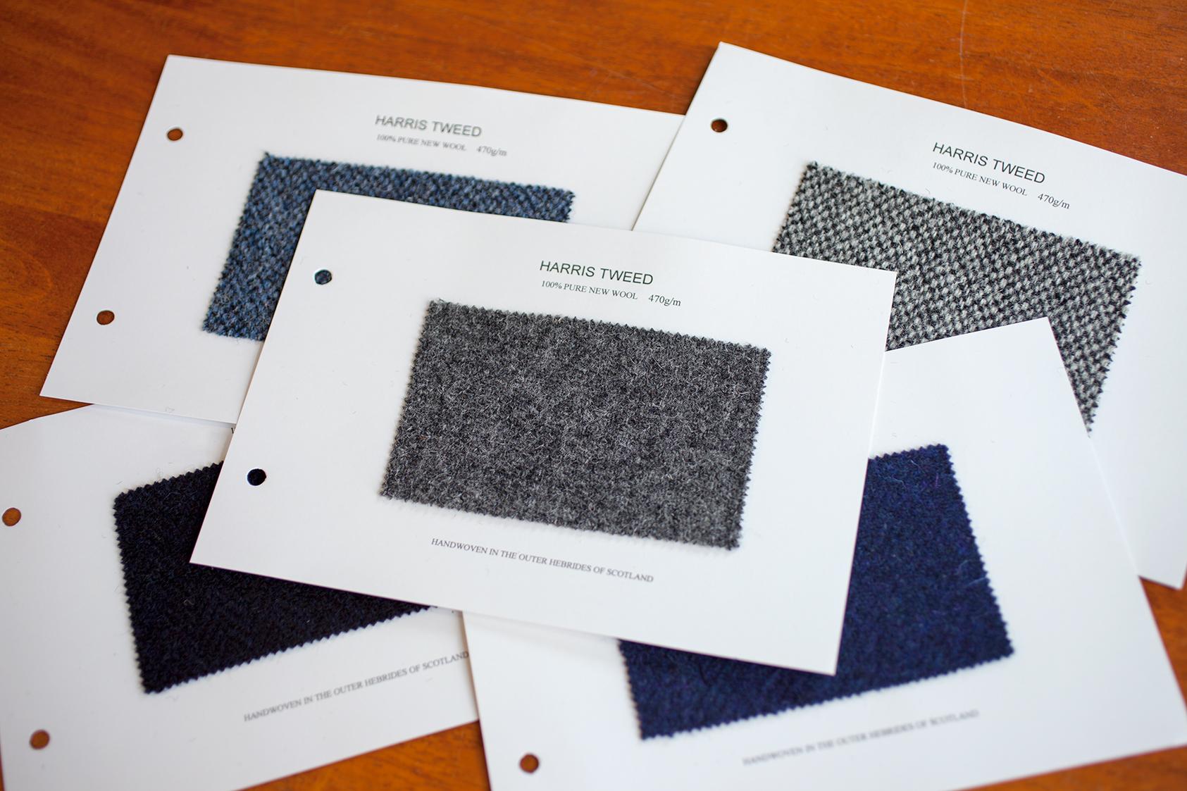 ハリス・ツイード 生地 Harris Tweed fabric