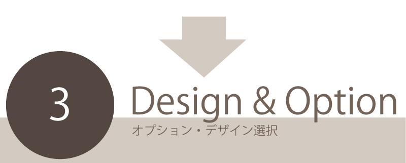 デザイン・オプション選択