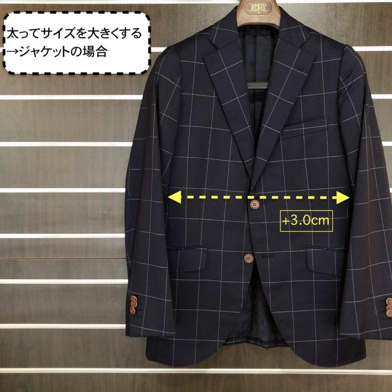 太った時 1 789x789 - スーツのサイズ直しはどれくらい大きくしたり小さくできる?