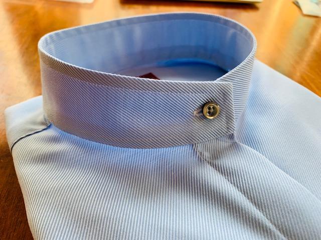 .jpeg - シャツの抜け感 スタンドカラーシャツ