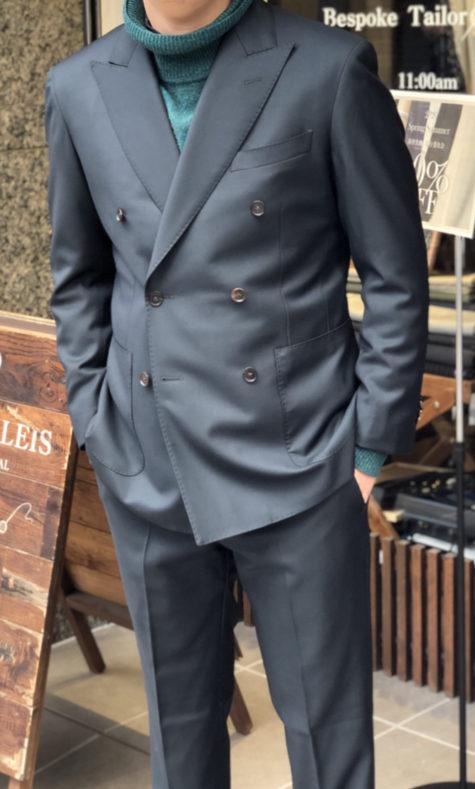 IMG 5491 475x789 - スーツの着こなし。Nero e Verde【ネロ・エ・ヴェルデとは】