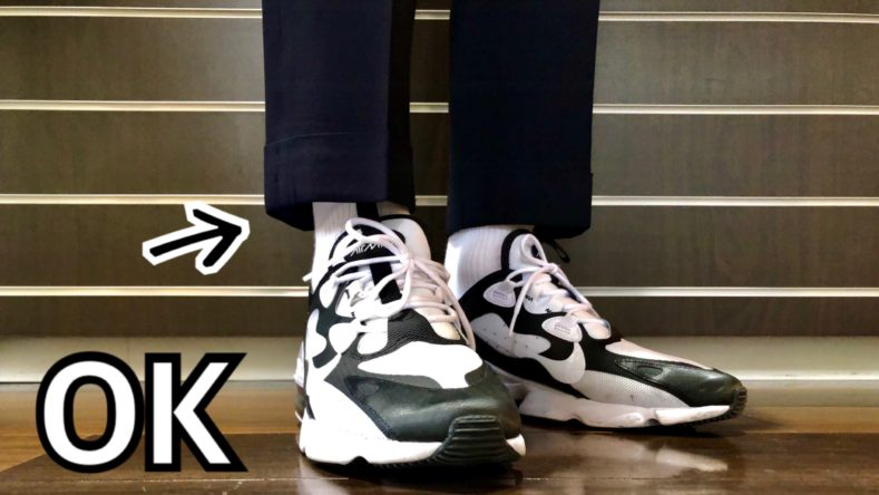 IMG 3213 789x444 - スーツにスニーカーはあり?