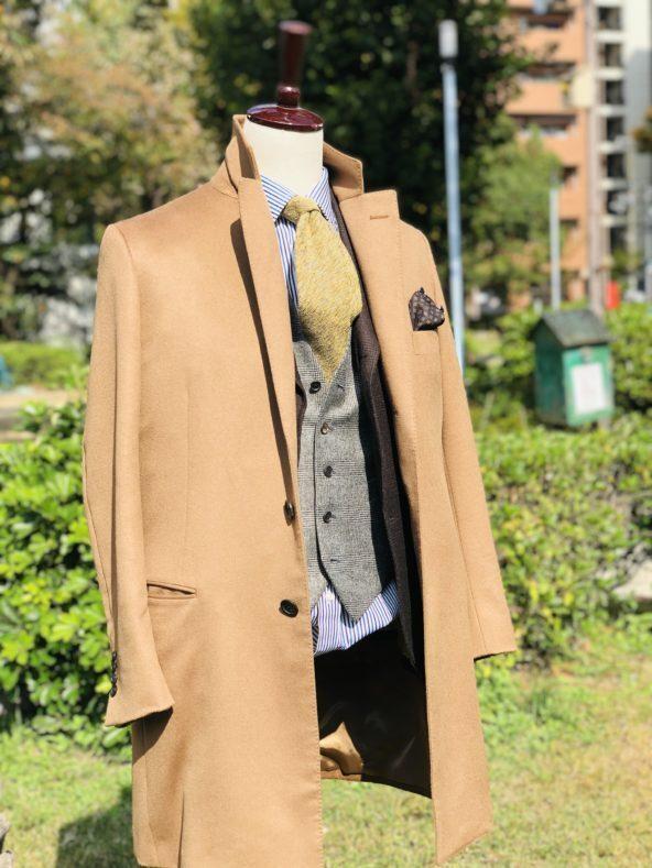 IMG 8426 592x789 - 今季は『ブラウン』を軸としたスーツスタイルです【2021 秋冬】