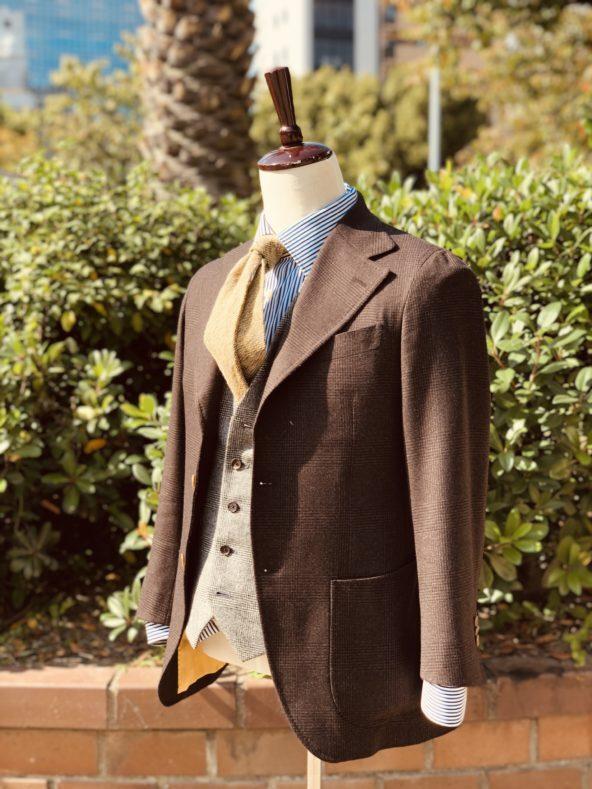 IMG 8441 592x789 - 私のスーツが仕上がりました。「DRAGO SKYFALL」