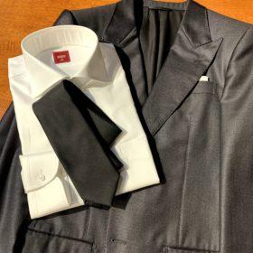 IMG 8464 280x280 - 【王道】着こなし!グレースーツ&白シャツには「黒ネクタイ」が正解