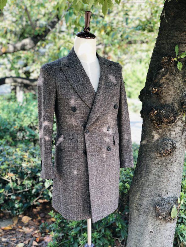 IMG 8482 592x789 - 今季は『ブラウン』を軸としたスーツスタイルです【2021 秋冬】