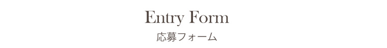 entryform - 採用情報