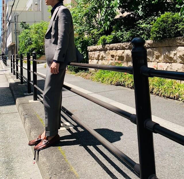 image0 29 - クールビズでのスーツスタイル(モヘア素材)