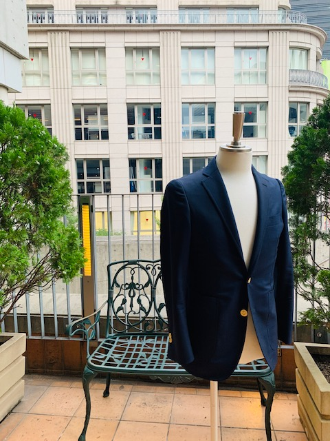 image0 3 6 - 特別な一着 紺ブレザー