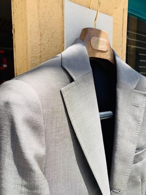image4 22 - クールビズでのスーツスタイル(モヘア素材)
