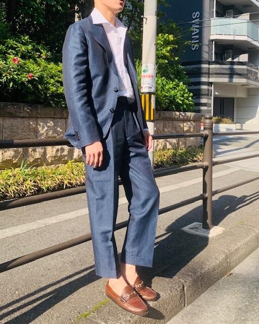 image8 7 - クールビズでのスーツスタイル(リネン素材)