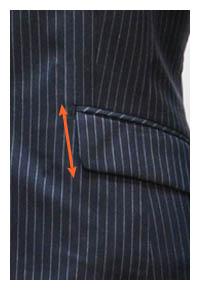 ladies detail101 03 - レディーススーツ ディティール