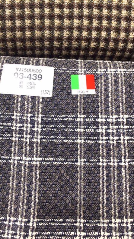 linecamera shareimage 1 4 444x789 - 春夏生地 リネンブレンドのスーツ