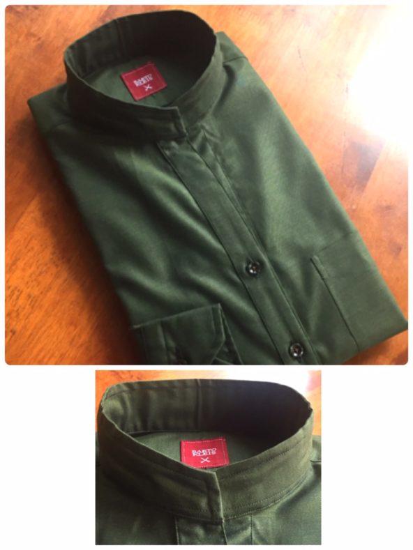 linecamera shareimage 1 5 592x789 - レディースおすすめ!バンドカラーシャツ
