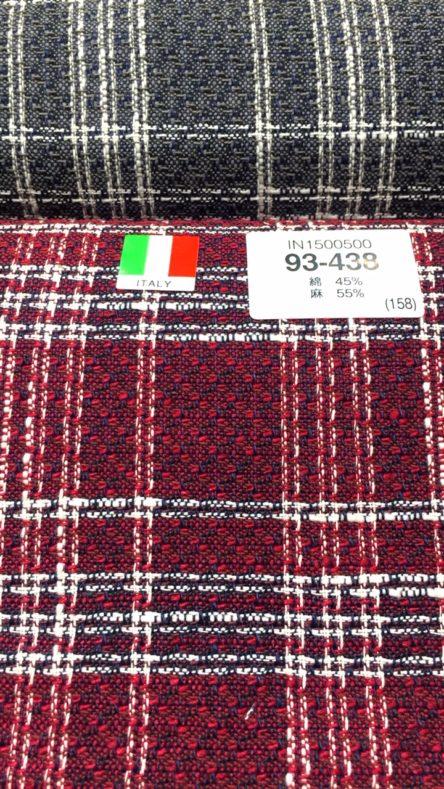 linecamera shareimage 13 444x789 - 春夏生地 リネンブレンドのスーツ