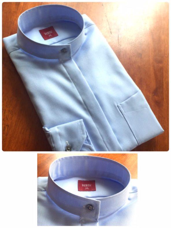 linecamera shareimage 14 592x789 - レディースおすすめ!バンドカラーシャツ