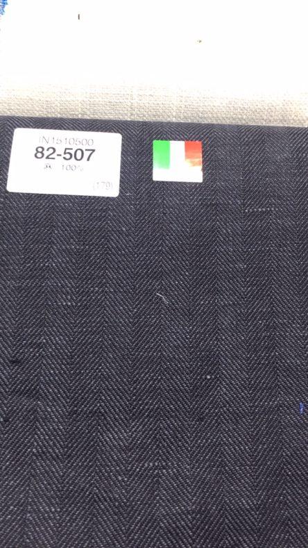 linecamera shareimage 3 4 444x789 - 春夏生地 リネンブレンドのスーツ