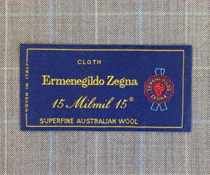 zegna brand ss101 pt301 - Ermenegildo Zegna